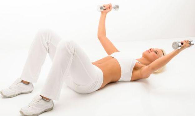 Image result for olahraga untuk memperbesar payudara