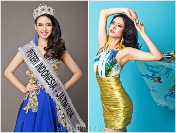 Profil Lengkap Elvira Devinamira, Putri Indonesia 2014