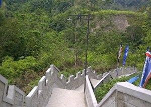 Great Wall Ngarai Sianok Bukittinggi Sumatera Barat