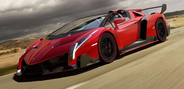 Harga Mobil Lamborghini Veneno Roadster 2014