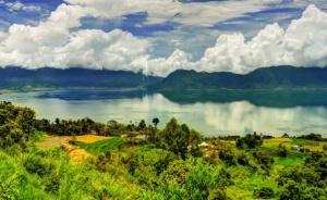 Letak Geografis Danau Maninjau Sumbar
