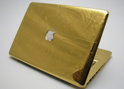 Harga Laptop MacBook Pro Emas 24 Karat