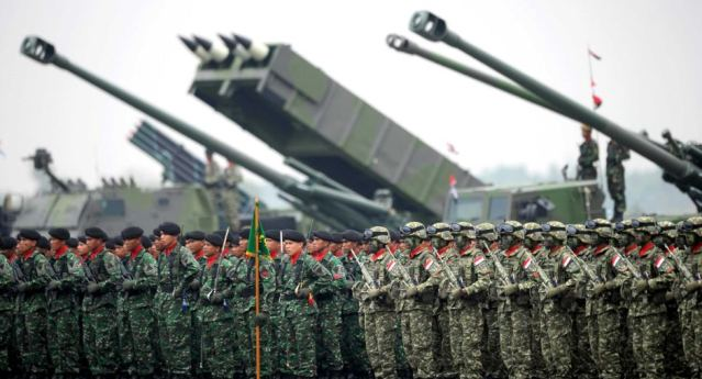 Inilah kekuatan militer indonesia di tahun 2014 dimana rangking