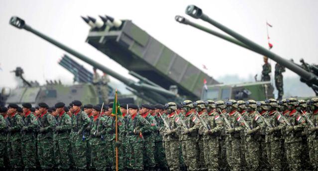 Kekuatan Militer Indonesia di Tahun 2014