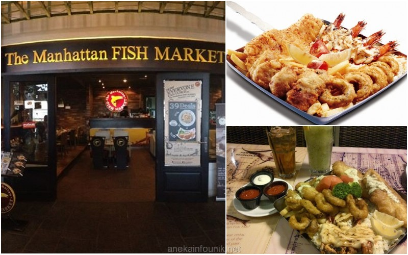 The manhattan fish market grand indonesia aneka info unik for Manhattan fish and chicken menu