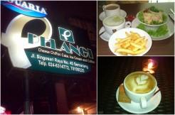 Alamat dan Menu di Cafe Pelangi Semarang