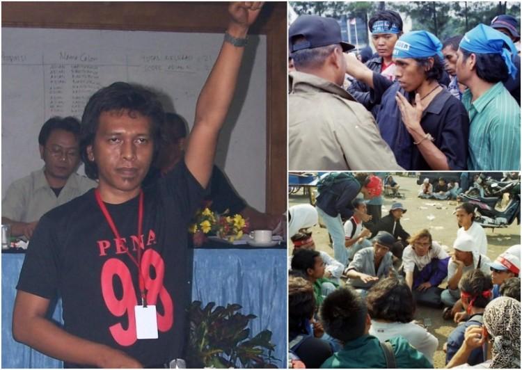 Foto Adian Napitupulu, Pendiri Forkot 1998