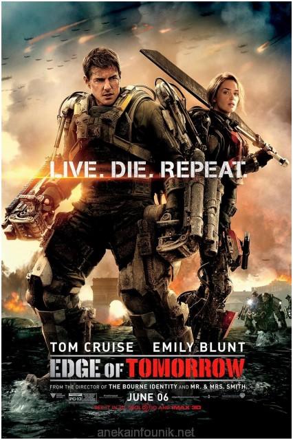Sinopsis Lengkap Film Edge of Tomorrow 2014