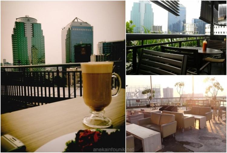 Sky Dining Rooftop Plaza Semanggi Jakarta