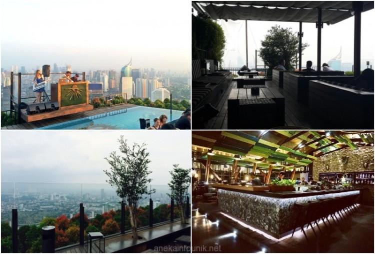 SKYE Bar & Restaurant di Menara BCA Jakarta