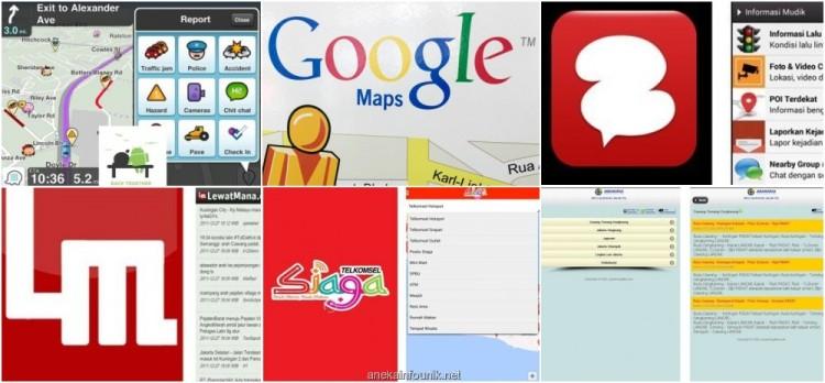 Aplikasi Android Untuk Info Lalu Lintas Mudik Lebaran