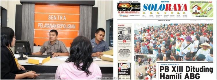 AT, Siswi SMK Solo Laporkan Paku Buwono XIII ke Polisi