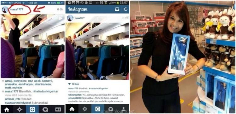 Foto Keadaan Dalam Pesawat MH17 Sebelum Take Off