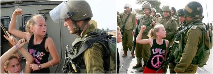Gadis Cilik Palestina Ahed Tamimi Pukul Tentara Israel