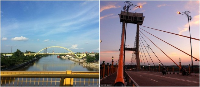Jembatan Tengku Agung Sultanah Latifah, Siak Riau