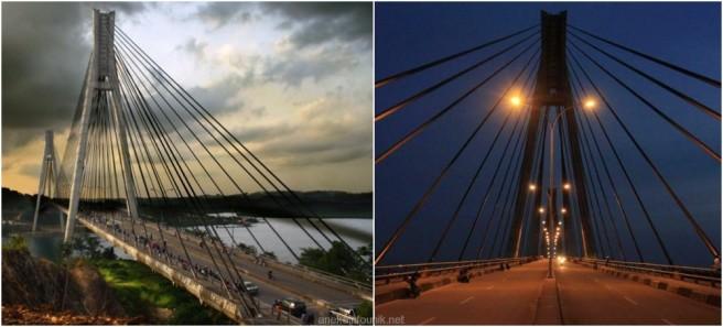 Panjang Jembatan Barelang Batam