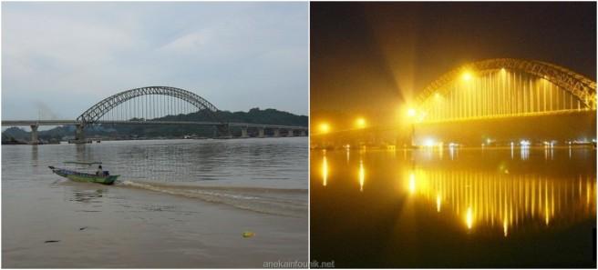 Panjang Jembatan Mahakam Ulu, Mahulu, Samarinda