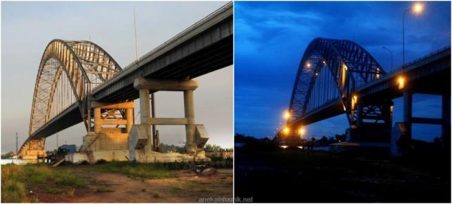 Panjang Jembatan Rumpiang, Kalimantan Selatan