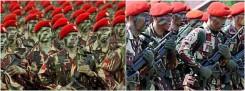 Pasukan Elit TNI AD Kopassus dari Indonesia