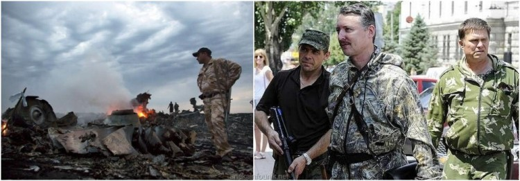 Rekaman Telepon: Militan Pro-Rusia Tembak Jatuh MH17