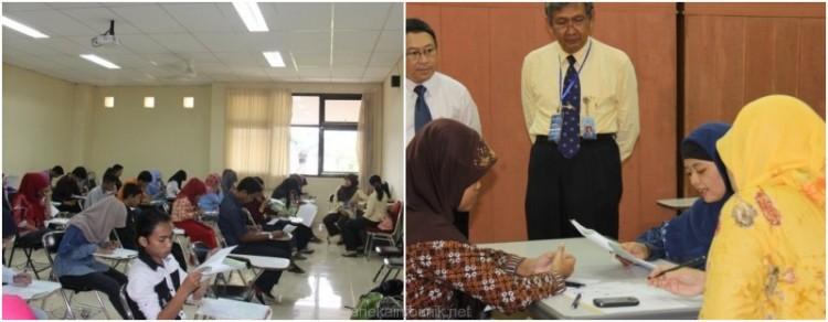 Suasana Ujian Lokal SBMPTN 2014 di Yogyakarta