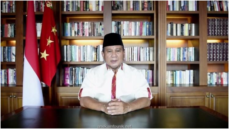 Video Prabowo Kirim Pesan untuk Sahabat Facebook
