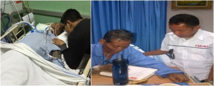 Foto Kondisi Ketum Gerindra Prof Suhardi Kritis di ICU RSPP