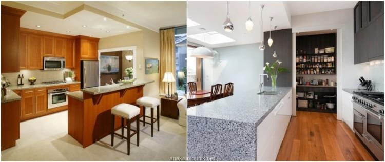 Gambar Desain Dapur Bersih Minimalis Yang Modern