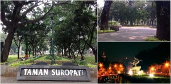 Alamat Lokasi Taman Suropati Jakarta Pusat