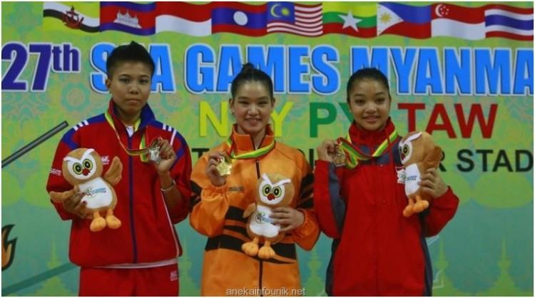 Foto Atlet Wushu Indonesia, Juwita Niza Wasni