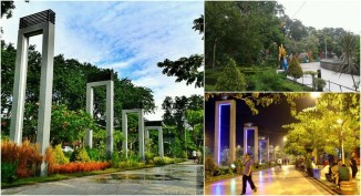 Taman Bungkul di Jalan Raya Darmo Surabaya