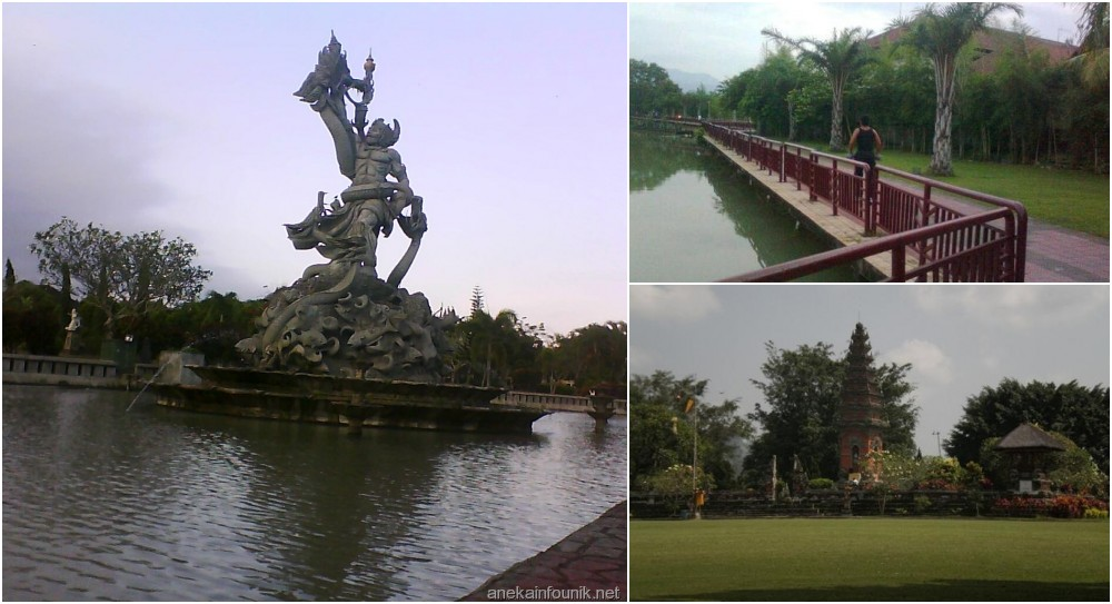 Hasil gambar untuk Taman Kota Pecangakan, Bali
