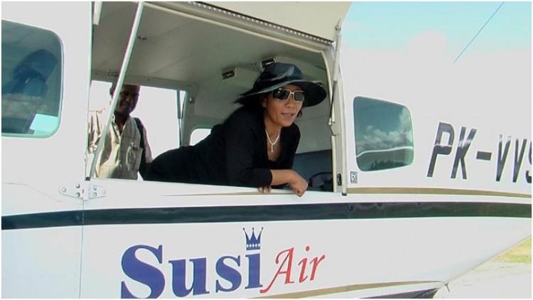 Foto Susi Pudjiastuti, Pengusaha Perikanan dan Penerbangan