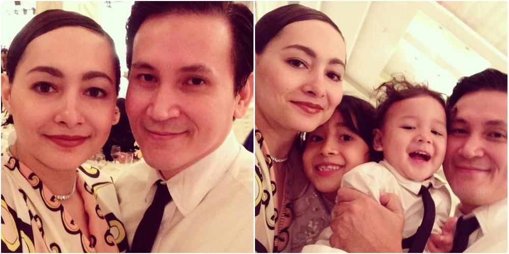Dewi Rezer dan keluarga