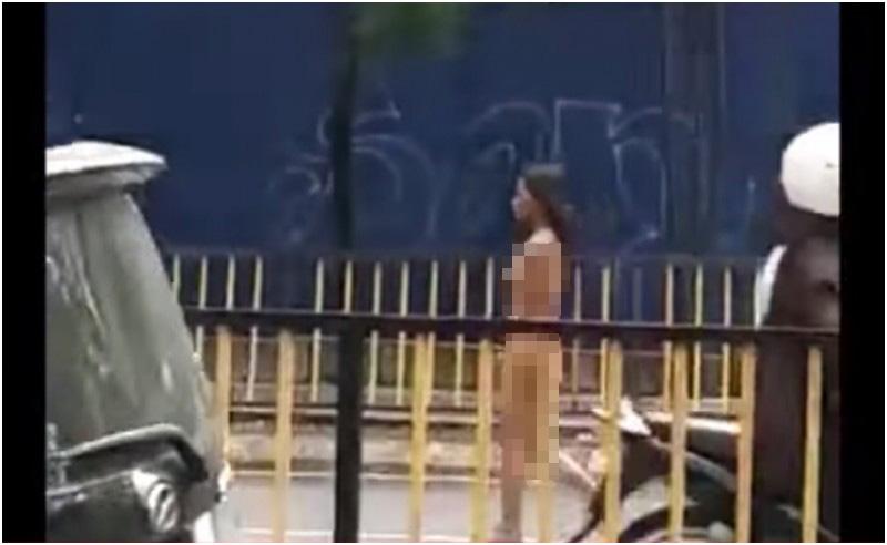 Video Saat Wanita Indonesia Berjalan Bugil di Jalan Protokol di ...
