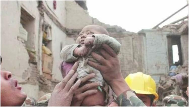 Bayi berusia 4 bulan ini dilaporkan dalam keadaan baik