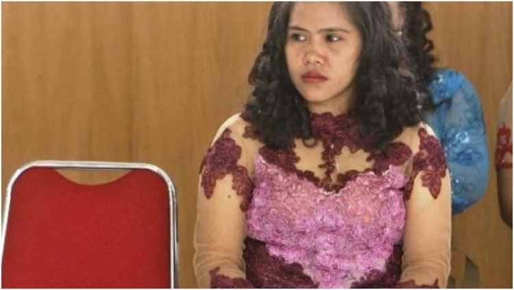 Mary Jane mengenakan kebaya saat peringatan Hari Kartini