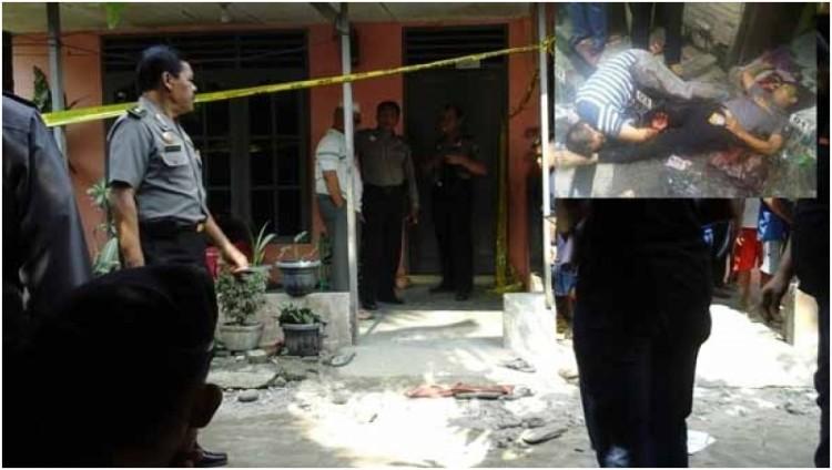 Polres Serdang Bedagai yang tewas mengenaskan usai terjadi baku tembak
