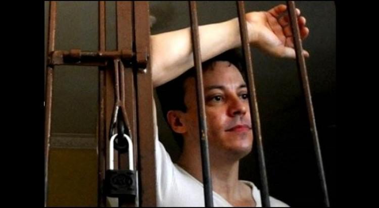 Frank Amado saat ditahan di Rutan Salemba pada 2012