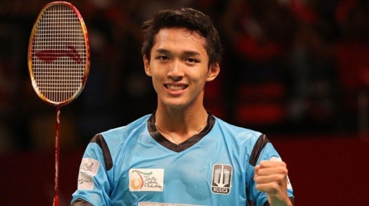 Jonatan Christie, Pebulutangkis muda andalan Indonesia