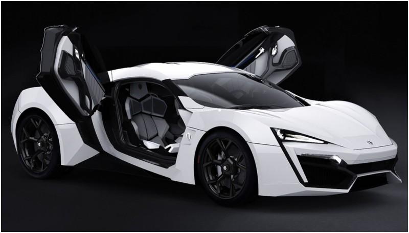 Polisi Abu Dhabi Pakai Lykan Hypersport untuk Mobil ...