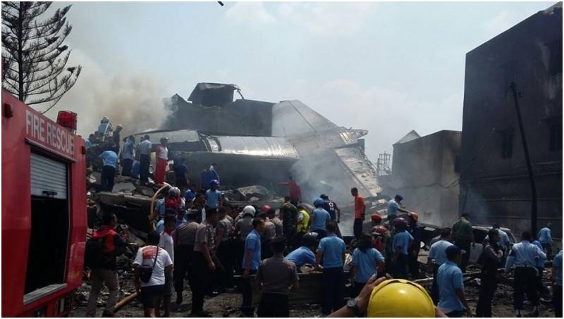 Ini Daftar Nama Awak, Korban Jatuhnya Pesawat Hercules C-135 di Medan