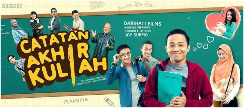 """Ini Sinopsis Film Komedi """"Catatan Akhir Kuliah"""" (2015)"""