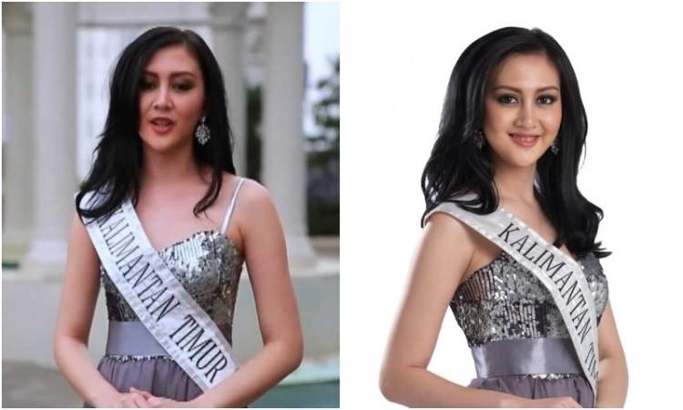 Puty Revita Sari, finalis Miss Indonesia 2014