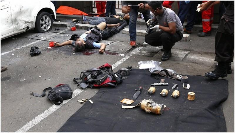 Jumlah Korban Bom Sarinah 24 Orang 7 Tewas 1 Wna Aneka Info Unik