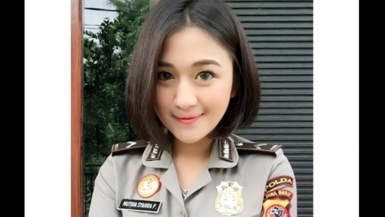 Bripda Muthia Syahra Padang, polwan yang dianiaya AKBP B
