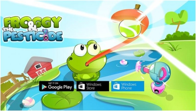 Game Froggy and the Pesticide buatan None Developers