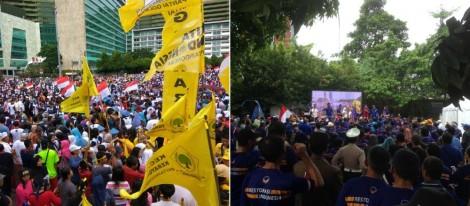 Ada Atribut Parpol, Parade Bhinneka Tunggal Ika di CFDDikritik