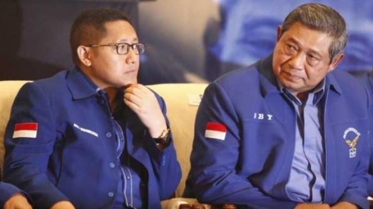 Anas Urbaningrum dan SBY