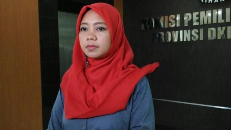 Dahliah Umar, anggota KPU DKI Jakarta